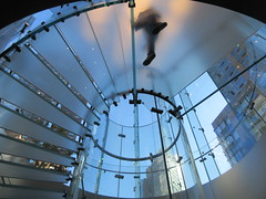 2019 West Side MAC Store Glass Floor Stairs NYC 5812 (Brechtbug) Tags: 2019 the other mac store glass floor stairs apple cube entrance computer stores near lincoln plaza hotel 66th street broadway new york city 10192019 west side midtown macs macintosh computers entrepreneur innovator cofounder chairman inc studios steve jobs six below feet view ice frosted plates underneath worms eye views october 19th