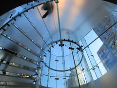 2019 West Side MAC Store Glass Floor Stairs NYC 5806 (Brechtbug) Tags: 2019 the other mac store glass floor stairs apple cube entrance computer stores near lincoln plaza hotel 66th street broadway new york city 10192019 west side midtown macs macintosh computers entrepreneur innovator cofounder chairman inc studios steve jobs six below feet view ice frosted plates underneath worms eye views october 19th