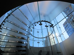 2019 West Side MAC Store Glass Floor Stairs NYC 5796 (Brechtbug) Tags: 2019 the other mac store glass floor stairs apple cube entrance computer stores near lincoln plaza hotel 66th street broadway new york city 10192019 west side midtown macs macintosh computers entrepreneur innovator cofounder chairman inc studios steve jobs six below feet view ice frosted plates underneath worms eye views october 19th