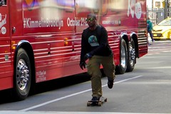 Broadway Bomb 2019 (pburka) Tags: nyc manhattan skating skateboard skater fulton fidi street people bus wheels broadwaybomb broadwaybombnyc broadwaybomb19 broadwaybomb2019 action