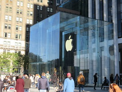 2019 Newly Revamped Mac Store Glass Cube Normal Again 6112 (Brechtbug) Tags: 2019 newly revamped mac store glass cube entrance looking normal again across from plaza hotel 5th avenue 58th street october 19th new york city 10192019 nyc macintosh computer after refurbishing re opened september 20th 09202019 midtown manhattan