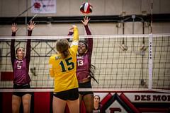 High School Volleyball (Phil Roeder) Tags: desmoines iowa desmoinespublicschools easthighschool hooverhighschool lincolnhighschool northhighschool roosevelthighschool sport sports athletics athletes volleyball canon6d canon70200f28