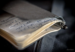 The Essential Note Book (GarSham) Tags: macro macromondays closeup communications writing pen notebook paper stationery