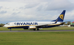 Ryanair EI-ENX Boeing 737-8AS at Manchester MAN England (Cupertino 707) Tags: ryanair eienx boeing 7378as manchester man england