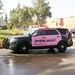 MPD Breast cancer awareness patrol car. (Monrovia1) Tags:
