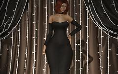 ♚ #791 ♚ (Caity Saint) Tags: avale dress treschic event truth ak akeruka backdropcove bento sl secondlife pixels avatar doll redhead