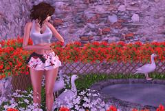 ❤ Cherry Blossom (Aziza Style) Tags: revenjdesignz hashtagevent jessposes lelutka aviglam glamaffair izzies meva re truth joplino secondlife