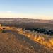 Valley view sunset (Dave S Beattie) Tags: california olympus em10marki sunset bench bayarea eastbay pleasantonridge
