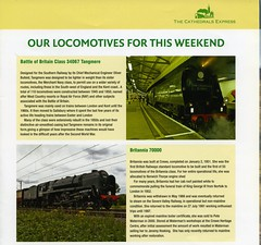 00e Atlantic Coast Express. Our locomotives for this weekend. Cathedrals Express. img269 (Clementinos2009) Tags: 2011atlanticcoastexpresslondontonewquay4th6thseptember cathedralsexpress steamdreams atlanticcoastexpresscathedralsexpress