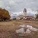 Boise Depot (Explored 10/20/2019) (fandarwin) Tags: boise depot reflection fall foliage colors darwin fan fandarwin olympus omd em10