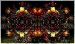 Another dimension (PaulO Classic. ©) Tags: tt kreativepeople fractal photoshop picmonkey mirroring