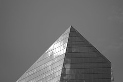 Wedge (damonabnormal) Tags: bw blackandwhite mono monochrome architecture buildings skyscrapers cities urban philadelphia philly