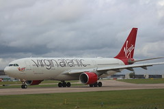 Virgin Atlantic G-VMNK Airbus A330-200 flight VS181 departure from Manchester MAN England UK bound for Los Angeles Cal USA (japes10) Tags: virginatlantic gvmnk airbus a330200 flight vs181 departure from manchester man england uk bound for los angeles cal usa