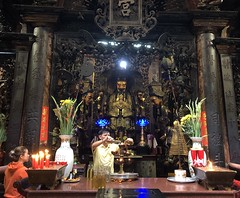 Good Libations (delphinusorca) Tags: jadeemperorpagoda taoism temple hochiminhcity vietnam iphone jadeemperor