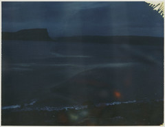 fjord (lawatt) Tags: fjord water mountain dark patreksfjörður westfjords iceland film polaroid iduv automatic250 roidweek2019