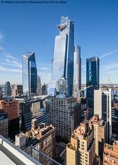 Hudson Yards (20191019-DSC06402) (Michael.Lee.Pics.NYC) Tags: newyork hudsonyards manhattanwest hudsoncommons ohny openhousenewyork aerial architecture cityscape skyline skyscraper sony a7rm4 laowa12mmf28 magicshiftconverter