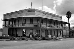 Urana Hotels (1 of 2) (Jungle Jack Movements (ferroequinologist) all righ) Tags: riverina george royal urana downunder australian dive tonk honky smoke rail history story end west emu xxxx carlton bitter melbourne victoria meals counter mates shout pot 7 middy schooner pint heavy light spirits rum bourbon scotch whiskey liquor serve keg cheers customer cold order australia house tab pub hole lounge stout local publican drunk public inn tavern hotel saloon lager draught drink brewery brew beer bartender barman bar amber ale alcohol wales south new nsw