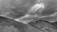 Foreboding (Xtine J) Tags: sky mountains lindispass mckenziecountry landscape places clouds nz