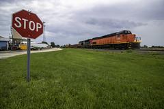 BLE 906 - Sullivan, Illinois (backlitkid) Tags: ble906 freight cn trains train emd railroading railfanning rain