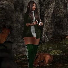 M (Persy(Paradise Bernitz)) Tags: xxxtasi {limerence} phedora autumn backdropcove animals beautykartel junkfood