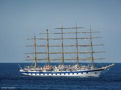 Royal Clipper (peterkaroblis) Tags: royalclipper segelschiff sailingship wasser water blau blue fünfmaster fivemastship fünf five