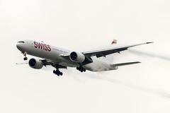 Swiss Boeing 777-3DE/ER HB-JNF (pointnshoot) Tags: canonef300mmf28lisiiusm sealpointpark b77w boeing777 swiss hbjnf