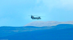Scotland Greenock a CH-47 Chinook helicopter operating that day from the French warship Tonnerre 17 October 2019 by Anne MacKay (Anne MacKay images of interest & wonder) Tags: scotland greenock ch47 chinook helicopter 17 october 2019 picture by anne mackay