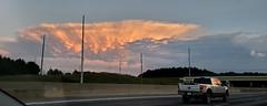 Mammatus (Luigi Rosa) Tags: mammatocumulus cloud nuovola cumulus cumulo temporale thunderstorm cielo sky georgia road strada highway car pickup
