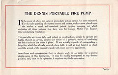Dennis Self Contained Portable Fire Pump (adelaidefire) Tags: dennis self contained portable fire pump guildford