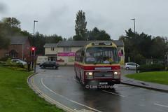 LFT 5X, Leyland Tiger, Plaxton Supreme, OK Motor Services, Bishop Aukland,             P1300924 (LesD's pics) Tags: bus coach isleofwight iow busesbeerfestival2019 lft5x leylandtiger plaxtonsupreme okmotorservices