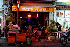 Evening; Phnom Penh (Valdas Photo Trip) Tags: cambodia phnom penh street photography