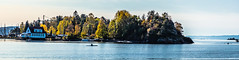 Afternoon on the fjord (Thor Edvardsen) Tags: kayakers fall autumn høst fjord trees islet boat boathouse colors sea seaside seaview norway norge nature canon canon5dsr ef2470mmf28liiusm oslofjorden oslo