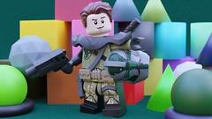 Lego Forest Minifigure (-Samino-) Tags: lego b3d blender blendermarket gumroad minifigure shader pbr material photorealism 3d forest suit random shapes color samino