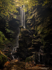 Falls and rocks (Through_Urizen) Tags: category hdr places turkey waterfall water river stream cascade rocks pool trees autumn fall canon90d canon1585mm leefilters landscape landscapephotography gorge creek longexposure leaves sunlight