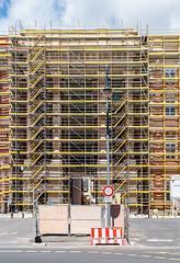 21 Berliner Schloß, Baustelle 2017 (zimmermann8821) Tags: baugerüst baustelle schlos humboldt sommer gebäude hohenzollern rekonstruktion wiederaufbau berlin stadtzentrum