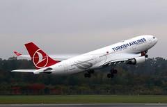 Turkish Airlines | A330-200 | TC-JIL | HAM | 20.10.2019 (Norbert.Schmidt) Tags: ham tcjil a330200 a330 airbus hamburgairport turkishairlines