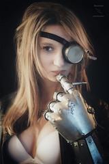 'Does not compute' (stormbrein) Tags: alternative dutchgirl altgirl dieselpunk steampunk portraiture portraitphotography