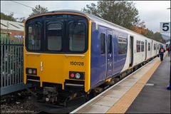 Northern 150128 (Mike McNiven) Tags: arriva railnorth northern sprinter wigan northwestern manchester stalybridge dmu diesel multipleunit