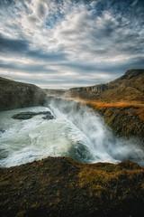 Amazing Iceland - Gullfoss (Passie13(Ines van Megen-Thijssen)) Tags: ijsland iceland island gullfoss waterfall wasserfall waterval landscape canon inesvanmegen inesvanmegenthijssen hvítá zuidijsland goldencircle