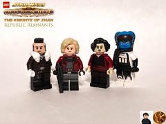 The Republic Remnants (The Knights of Shan) (halixon) Tags: tkos swtor star wars figbarf lego