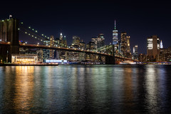 Brooklyn Bridge at night (davidottewell) Tags: d800 18g 35mm
