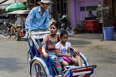 Rickshaw; Phnom Penh (Valdas Photo Trip) Tags: cambodia phnom penh street photography