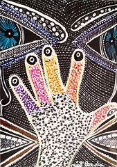 Hamsa desde Israel arte moderno Mirit Ben-Nun (female artwork) Tags: artistic paint painting paintings painter draw drawing drawings woman women feminism femme acrilyc pencils pen markers marker person hand eyes relationship love magical magnetic heart dream friend fantasy main partner soul mate sunshine misterious beautiful complex cultured creative open energetic mirit ben nun people photoadd