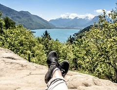 Wish I was there...hss xx (shona.2) Tags: feet nature beautiful nationalpark rocdechere talloires annecy lakeannecy tourism europe france alps mountains selfiesunday view