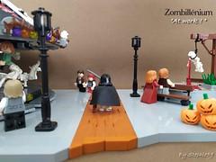 """Zombillenium - """"At work !"""" (Stephle59) Tags: zombillénium zombillenium lego moc brickpirate park parc amusement attractions sirius squelette skeleton"""