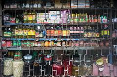(kuuan) Tags: voigtländerheliarf4515mm manualfocus mf voigtländer15mm aspherical f4515mm superwideheliar apsc sonynex5n saigon hcmc vietnam market bottles repaetingpattern