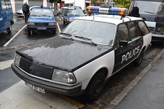 Renault 18 Break Police (Monde-Auto Passion Photos) Tags: voiture vehicule auto automobile cars renault r18 break police ancienne classique rare rareté collection rassemblement france nemours