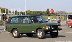 Range Rover 2.4 Turbo D 1987 (Wouter Bregman) Tags: 3525vj93 range rover 24 turbo d 1987 rangerover vert green automédon 2019 le bourget lebourget îledefrance 93 france frankrijk carshow meeting youngtimer old classic british car auto automobile voiture ancienne anglaise uk brits vehicle outdoor