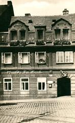 OLD POSTCARDS - TEPLICE 391 (beranekp) Tags: czech teplice teplitz market markt square platz