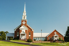 Greeneville Church of Christ (Back Road Photography (Kevin W. Jerrell)) Tags: churches christianity churchofchrist backroadphotography nikond7200 sigmalens faith greenecounty greeneville tennessee